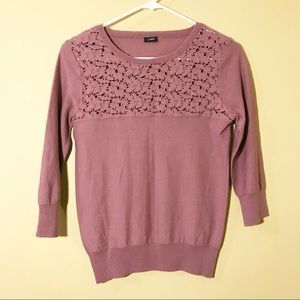 J. Crew Mauve Small long sleeve top